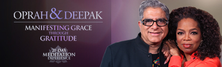 Oprah and Deepak 21 Day Meditation Experience